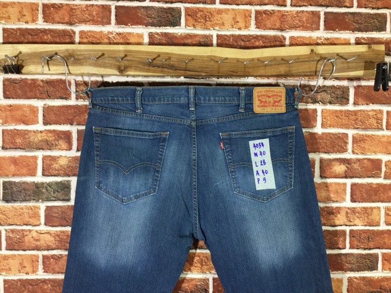 รหัส4054 Levi's505  Made in Pakistan