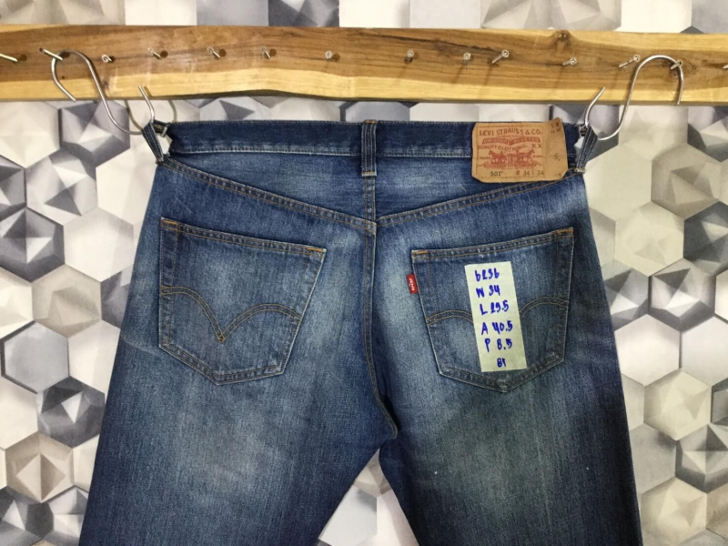 รหัส6236 Levi's501 Made in China