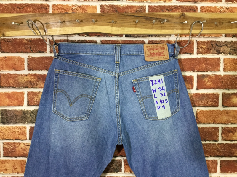 รหัส7241 Levi's514R  Made in China