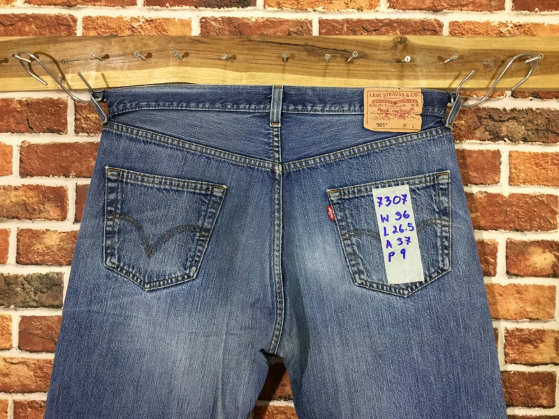 รหัส7307 Levi's501  Made in Sri Lanka
