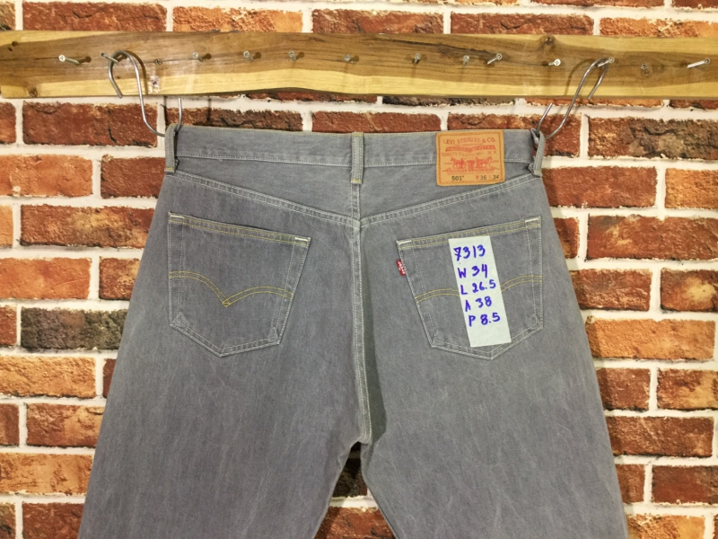 รหัส7313 Levi's501  Made in Mexico