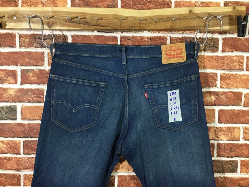 รหัส5560 Levi's505 Made in Bangladesh