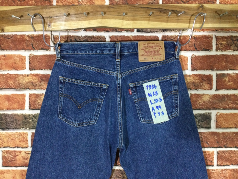 รหัส7986 Levi's501  Made in Korea