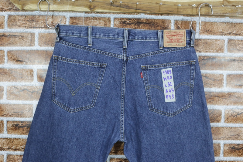 รหัส1782 Levi's505  Made in Bangladesh