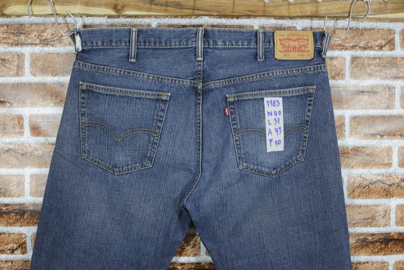 รหัส1783 Levi's569  Made in Colombia