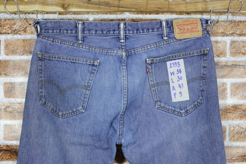 รหัส2193 Levi's505  Made in  Mexico