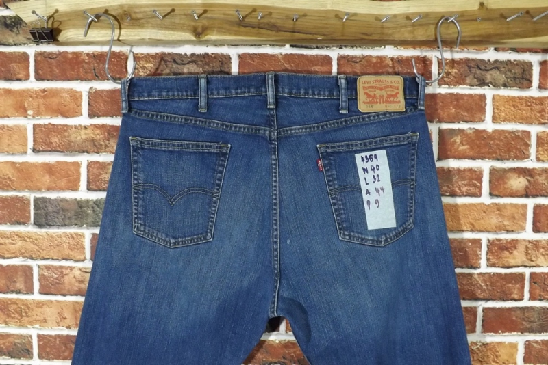 รหัส4359 Levi's514  Made in Mexico