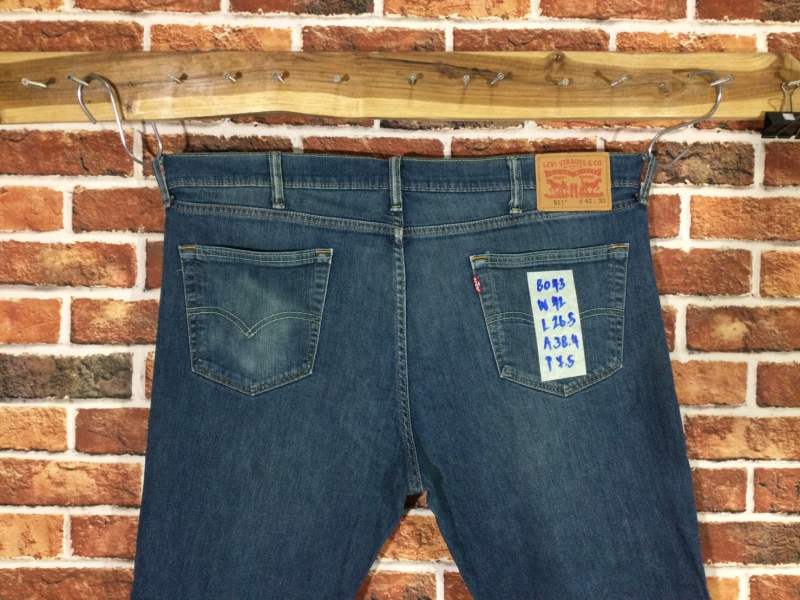 รหัส8043 Levi's511  Made in Colombia