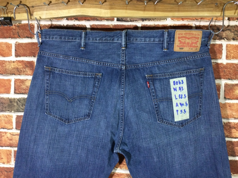 รหัส8063 Levi's569  Made in Vietnam