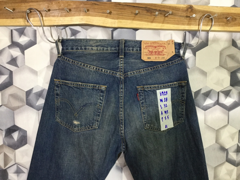 รหัส6729 Levi's501  Made in Korea